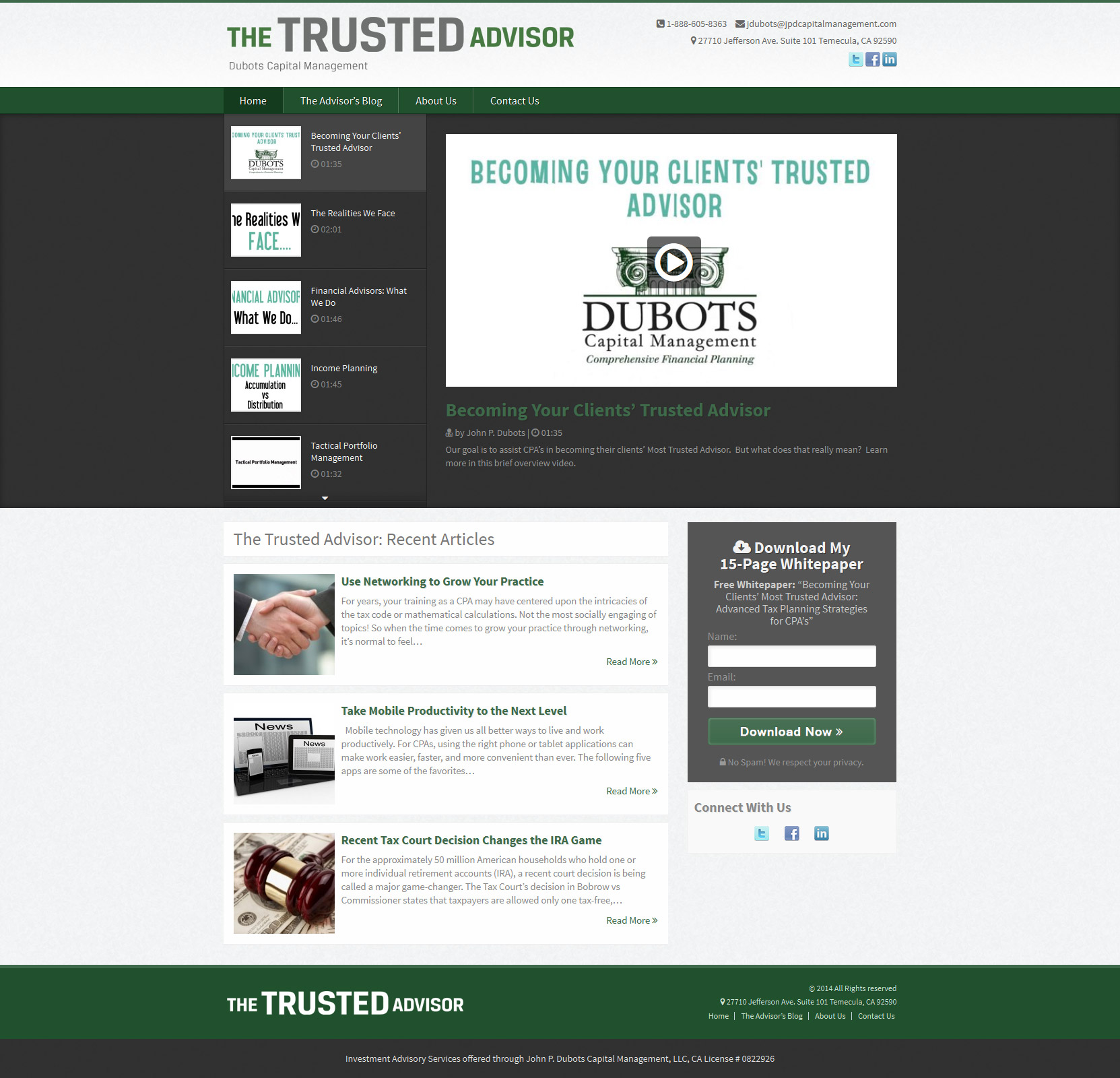 theTrustedAdvisor.us